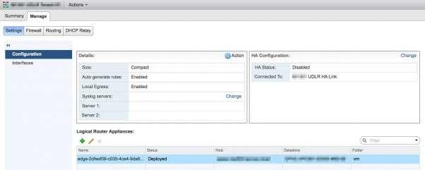 UDLR Configuration